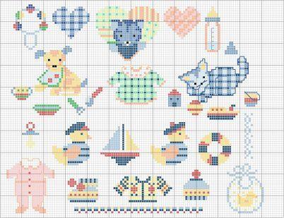 Patrones de dibujos peque os y faciles cas patrones and - Dibujos para hacer punto de cruz ...