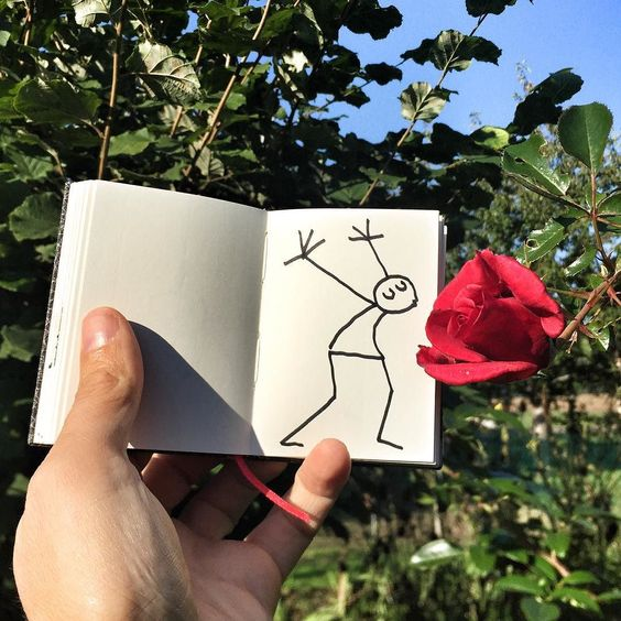 Belle Journée ! # #elyxyak #rose #goodmorning  #lepetitprince