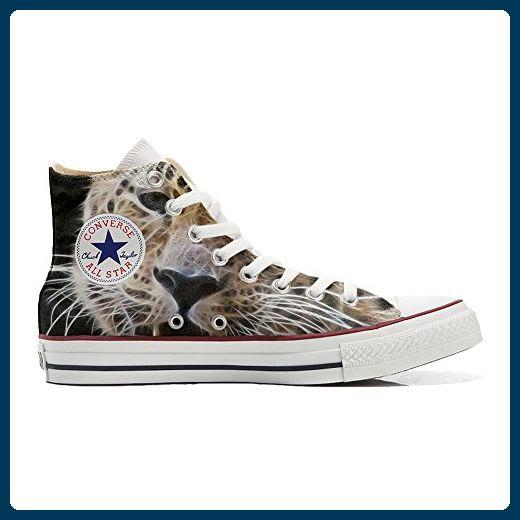 mys Converse All Star Customized Unisex - Personalisierte Schuhe (Handwerk Produkt) Tiger Style