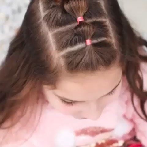 Lilyon On Instagram Tutorial For Half Up Style Tousledandtangledhair Hairstyles Hairart Braids B Girls Hairstyles Easy Girl Hair Dos Girl Hairstyles