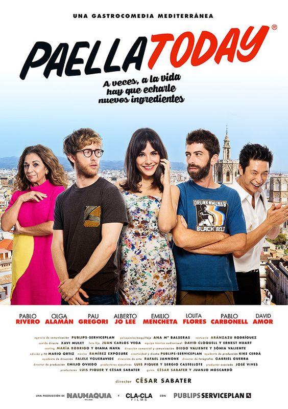 PAELLA TODAY! de César Sabater Web oficial de la gastrocomedia mediterránea, protagonizada por PABLO. ESTRENO 2017.