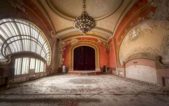 abandoned Romanian casino