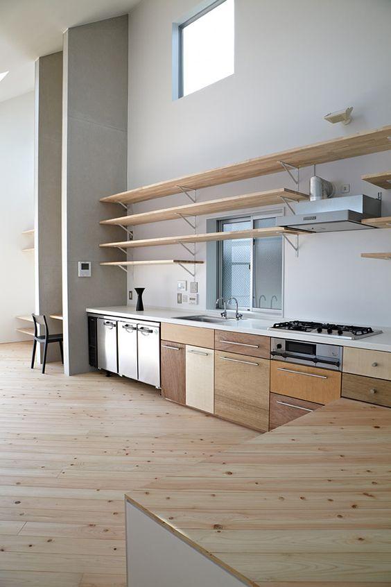 Clean #kitchen #interior