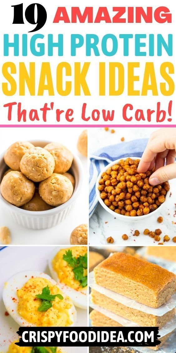 high protein snack recipes