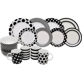 buy living 16 piece porcelain simplicity dinner set at argoscouk your argos pc living room set