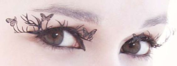 Paperself Deer and Butterfly Eyelashes (as featured in The Hunger Games)