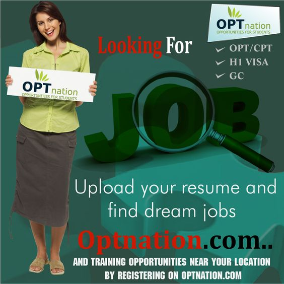 Upload your Resume and find Dream Jobs #optnation #DreamJobs - how to upload resume