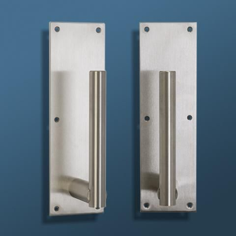 Germ Free Door Pull In 2020 Commercial Entry Doors Door Handles Locker Storage