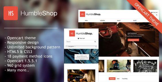 Download Free              Humbleshop Minimal Opencart Theme            #               clothes #fashion theme #minimal #minimal opencart theme #minimal theme #opencart #opencart theme #responsive #themes