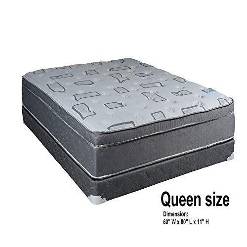 Dream Solutions Usa Natural Trophy Medium Plush Eurotop Pillowtop