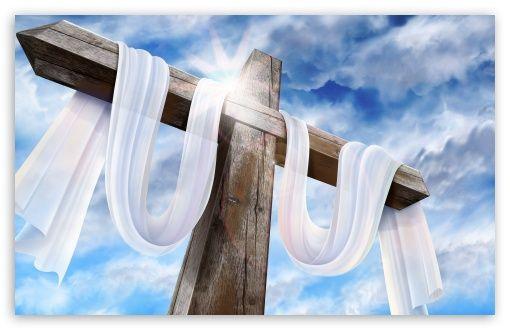 Cruz Vacía Imagen De Semana Santa Fondo De Pantalla De Pascua La Cruz De Jesus