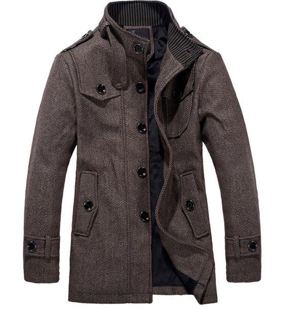 Wholesalecheap 2012 new autumn and Winter Jacket Mens Long duffle ...