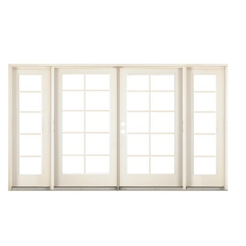 French the back and patio on pinterest for Back patio french doors