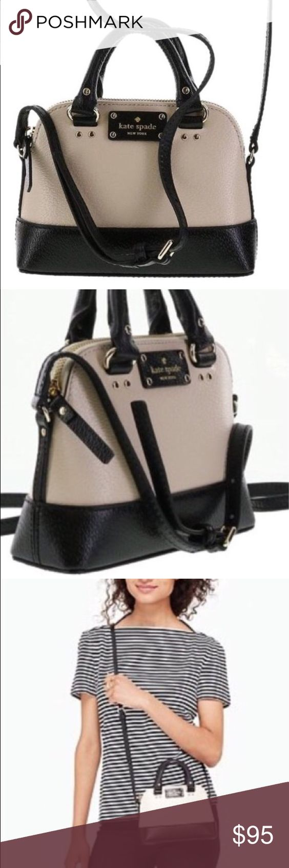 Wellesley Mini Rachelle Kate Spade Crossbody Brand new, never used kate spade crossbody. Such a cute purse with very durable and beautiful leather and gold hardware. kate spade Bags Crossbody Bags