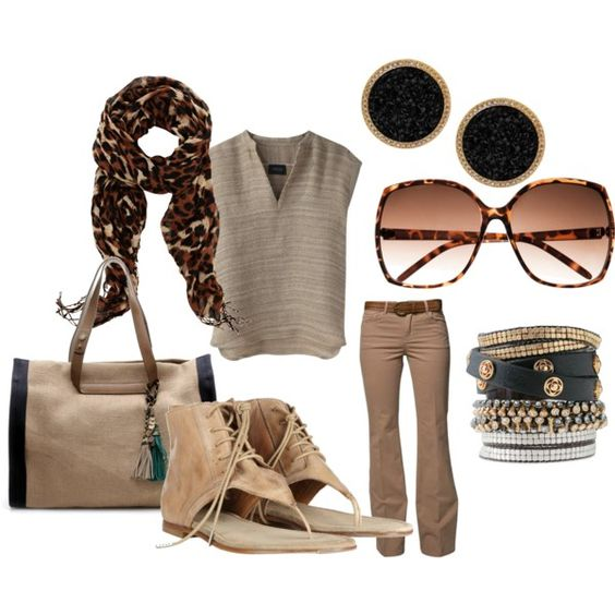 day out, created by leselbe on Polyvore