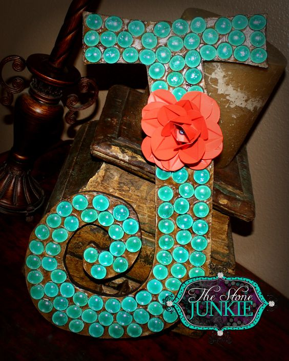 J And J Corals Letter J- Medium with ...