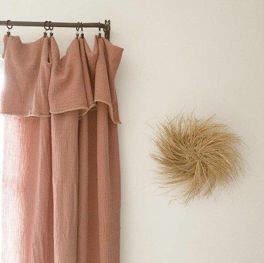 ou trouver un rideau en gaze de coton