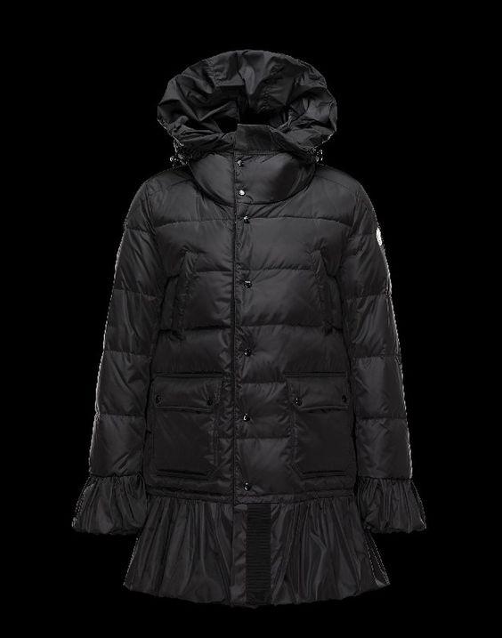 moncler daunenjacke, jacke preis Moncler SERRE Damen Mantel Für Sie Schwarz Polyamid 41456720IX google