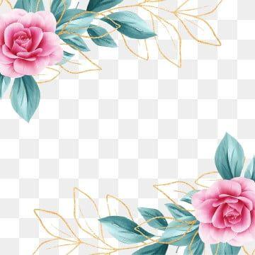 Pngtreepesquisas De Vetores Populares Pequeno Fresco Verde Flores Arquivo Png E Psd Para Download Gratuito In 2020 Flower Png Images Floral Border Design Flower Frame