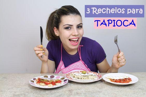 Como fazer Tapioca + 3 idéias de Recheios | #CcPah #6ºTemp | Paloma Soares