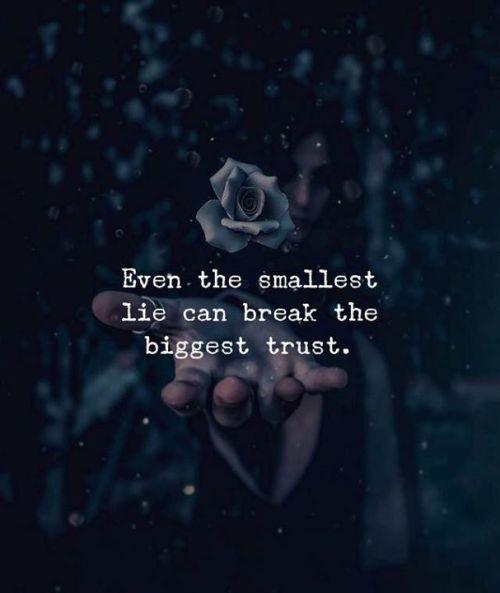 Trust Break Quotes