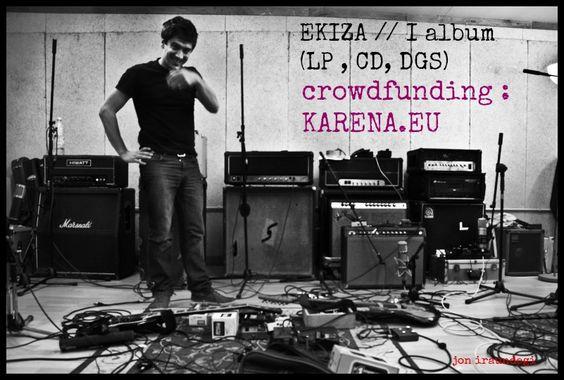 https://flic.kr/p/wceUw9 | crowdfundig para financiar el primer Disco el solitario de Jurgi Ekiza  (Willis Drummond) | karena.eu/index.php