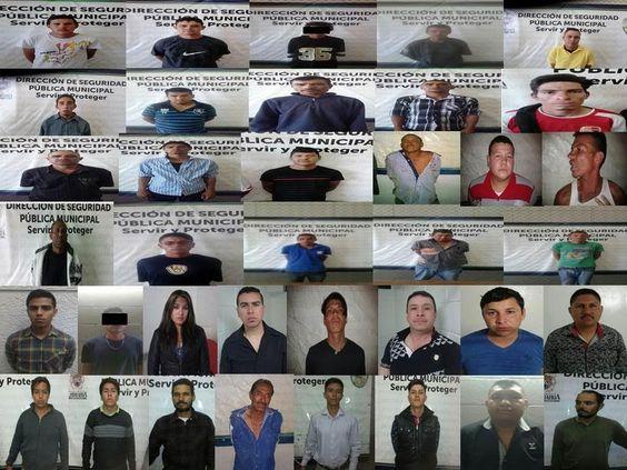 Arresta Policía Municipal a 40 infractores al norte de la ciudad | El Puntero