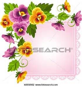 Pansy Clip Art - Bing Images