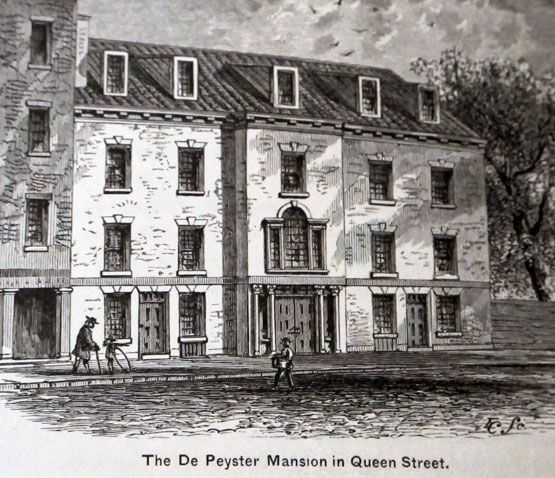 Big Old Houses Manhattan 1800 New York Social Diary Old