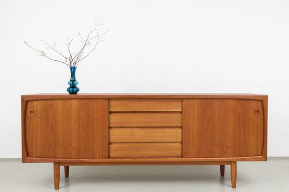 magasin m bel d nisches 60er jahre teak sideboard 452 50 60 er pinterest teak. Black Bedroom Furniture Sets. Home Design Ideas