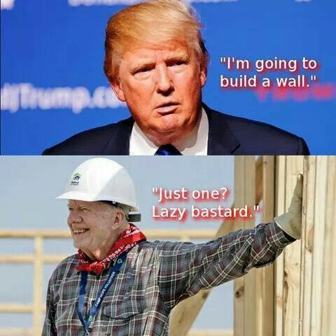 Image result for Jimmy Carter & Donald Trump