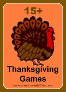 Thanksgiving games thanksgiving and game on pinterest Fun family thanksgiving games