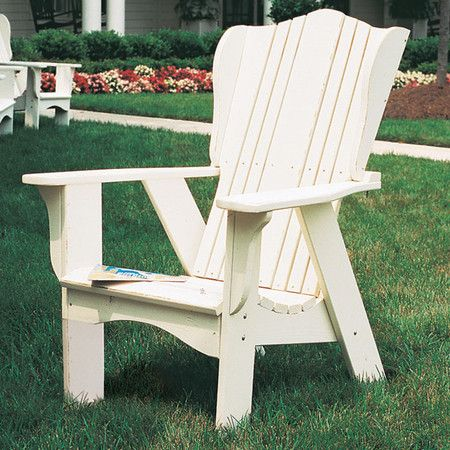I pinned this Plantation Adirondack Chair from the Outdoor