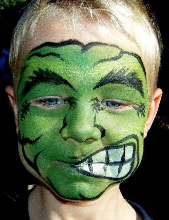 Schminktipps Halloween Kinder.Schminktipps Karneval 40 Ideen Fur Kinderschminken Halloween Schminken Kinder Kinder Schminken Halloween Schminkideen