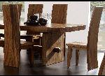 Massivholz-Stuhl SUAR