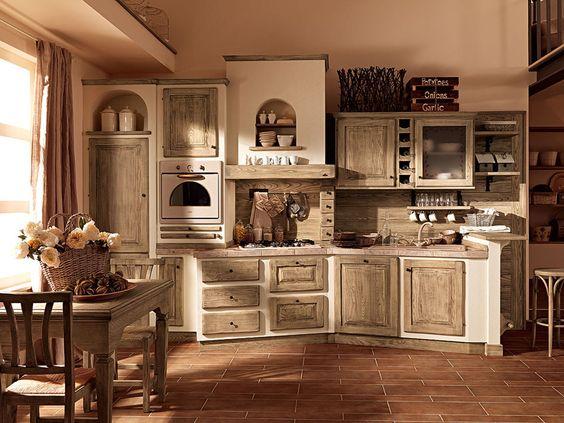 Cucine in muratura: cucina paolina di oggi [b] da zappalorto ...