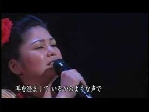 One of the most beautiful voices from Japanese Enka I've heard. I bought her Okinawa Uta album in Japan back in 2009 and each track was sung beautifully.  Rimi Natsukawa - Zutto Oboeteru