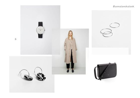 earring - kiki - Anna Ławska x Fenek and rings - collection back to basic -