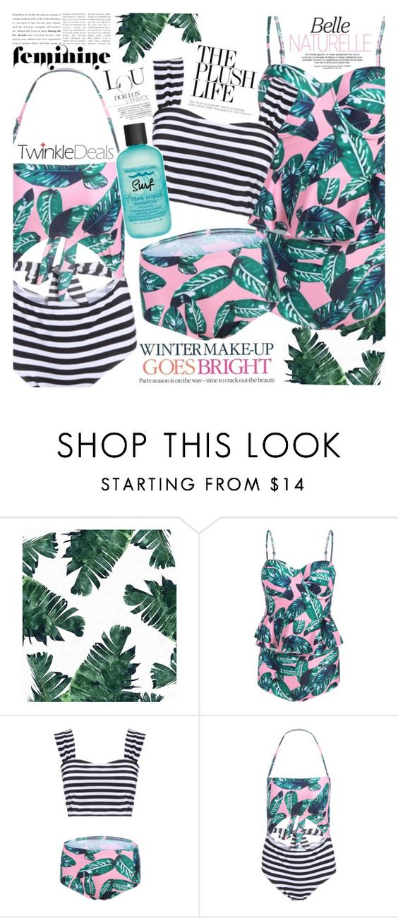 """Leaf domination"" by vanjazivadinovic ❤ liked on Polyvore featuring Celestine, Bumble and bumble, polyvoreeditorial and twinkledeals"