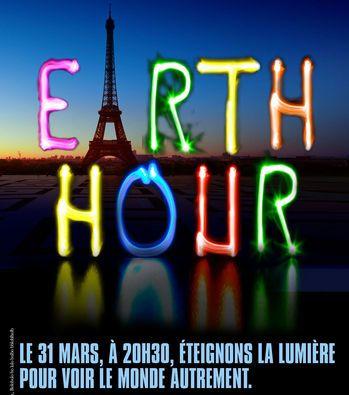 Ce soir, Earth Hour / 1 heure pour la terre