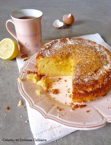 Gateau sans gluten au citron et amande