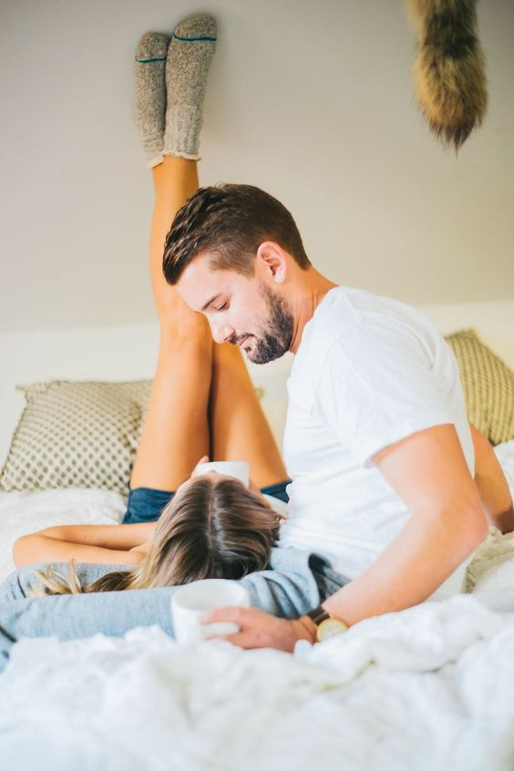 Forget Engagement Photos — This At-Home Newlywed Shoot Is So Much Better!: