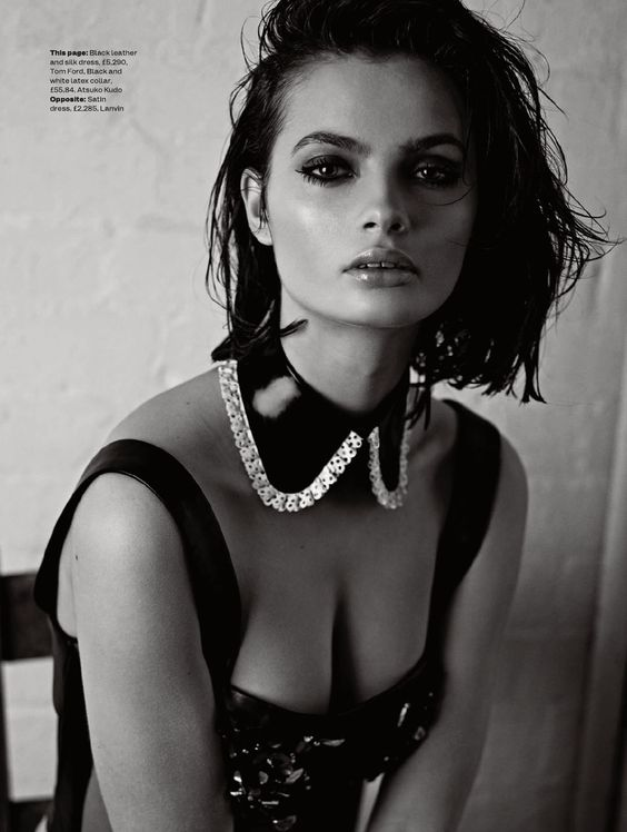 Moa -- Elle - April 2015 UK: