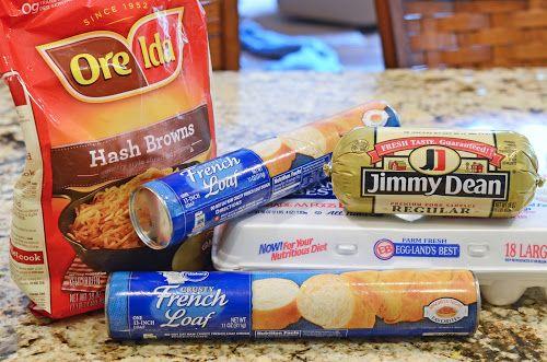 Homemade Breakfast Hot Pockets & Orange Julius - Or so she says...