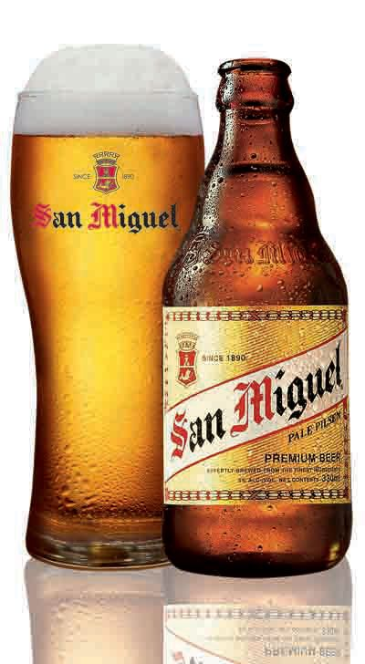 """San Miguel Pale Pilsen """"Mag Beer Muna Tayo!"""" (I can still remember the tune, 36 years later!) Shandy, yum!"""