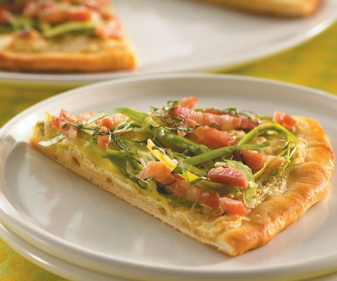 SHAVED ASPARAGUS AND LEMON-RICOTTA PIZZA | Food - The Test Kitchen ...