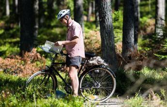 Der Radweg Sydostleden   Småland Mobile