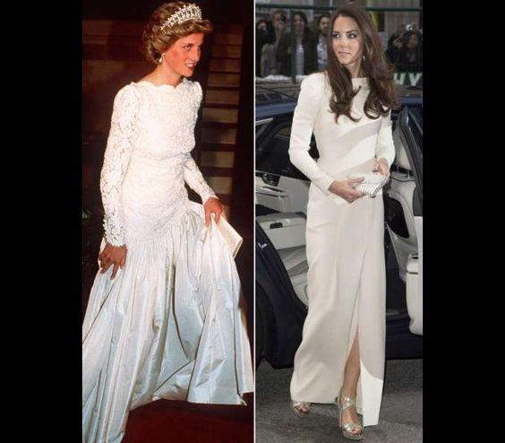 Os looks de Kate Middleton inspirados na princesa Diana