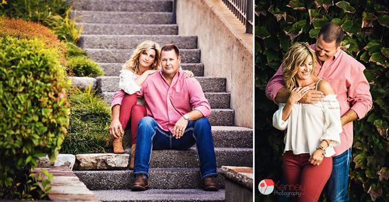 Beautiful Couples Session, Bluff View Art District. Chattanooga TN Photography by: https://www.facebook.com/KenneyPhoto