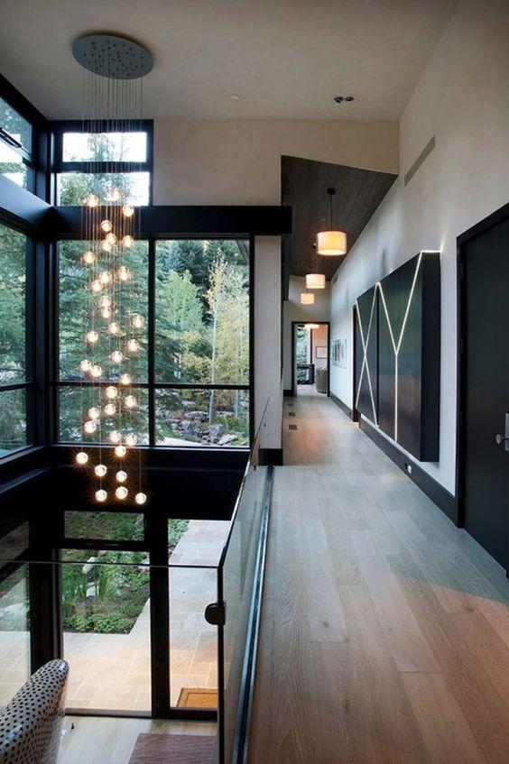 Modernes Berghaus, inspiriert von robuster Colorado-Landschaft  #berghaus #colorado #inspiriert #landschaft #modernes #robuster Innendesign